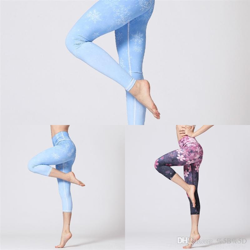 KHTS Hot Leggings Donne Gym Legging Donne Vestiti High Plus Size Dance Yoga Pant Pant Capris Donna Pantaloni vita per petite Bandaggio stretto