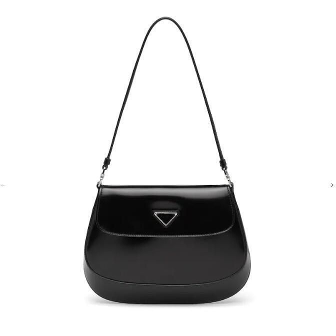 2020 novos Cleo nas axilas sacos de ombro saco bolsas de alta qualidade Crossbody saco em forma de coração decoração encerado couro genuíno saco atacado