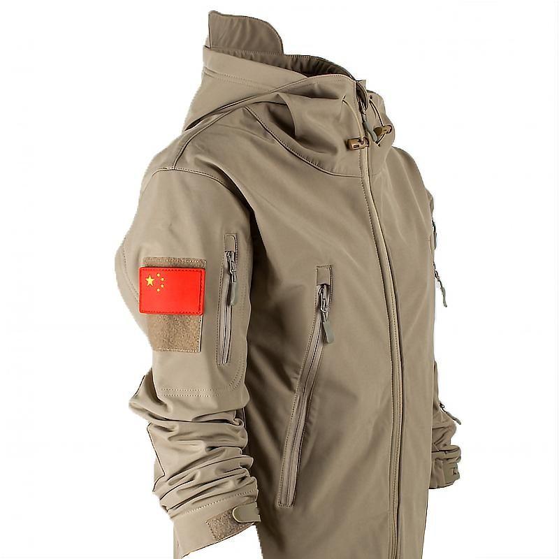2020 neue Jacke der Männer taktische Kleidung im Freien winddicht wasserdicht warmen Jacke Berg Anzug