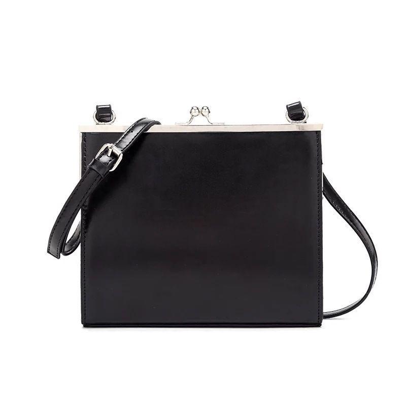 HBP Women's bag new Messenger ladies shoulder bag Korean fashion trend women's Bags retro clip package