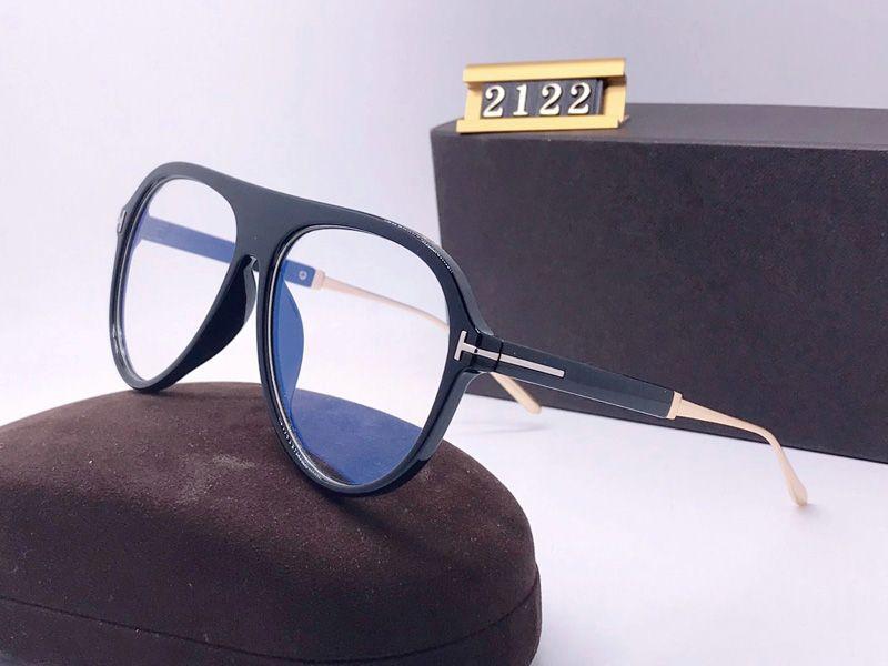 2020 Yeni Moda Erkek Kadın için Büyük Güneş Gözlüğü Kadın Gözlük Tom Tasarımcı ARC Güneş Gözlüğü UV400 Ford Lensler Trend Güneş Gözlüğü TF2122 Kutusu DICKOUN