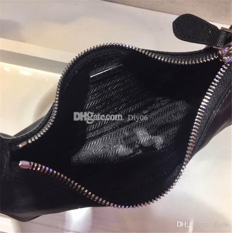 2021 Top Quality Taschen Frauen Neue Designer 2000 Re-Edition Luxus Nylon Tote Leder Umhängetaschen Damen Schultertasche Tasche Crossbody Han JQAK