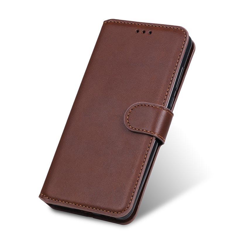Per iPhone 12 Portafoglio 11 Pelle Pro Max mini cassa del telefono di vibrazione della carta Slot per Samsung S20 FE A71 A42 Huawei Moto Sony