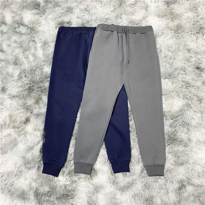 Men's autumn and winter cotton clothes, fashion sports pants, slim and loose, you can wear them when you usually exercise.