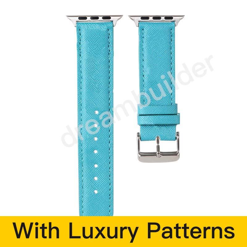 P Fashion Watchbands for Watch Band 42mm 38mm 40mm 44mm iwatch 1 2 345 bandas pulseira de couro pulseira fashion listras frete grátis