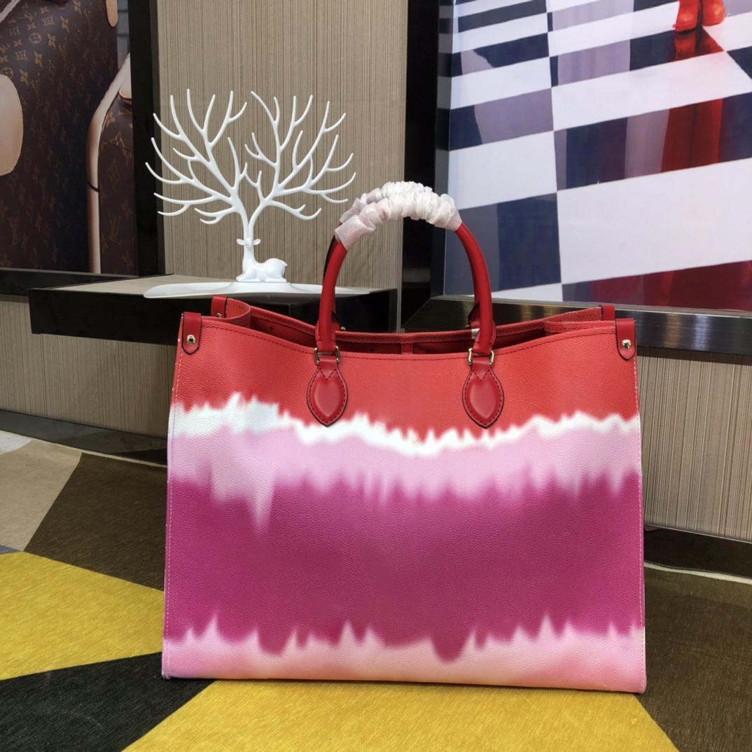 Çanta Yüksek 2020 Onthego Kadınlar Yeni Moda Çanta Kalite Büyük Çift Yönlü Baskı Çantası Stil En Kaliteli Farklı Tasarımcı Desi NDMBF