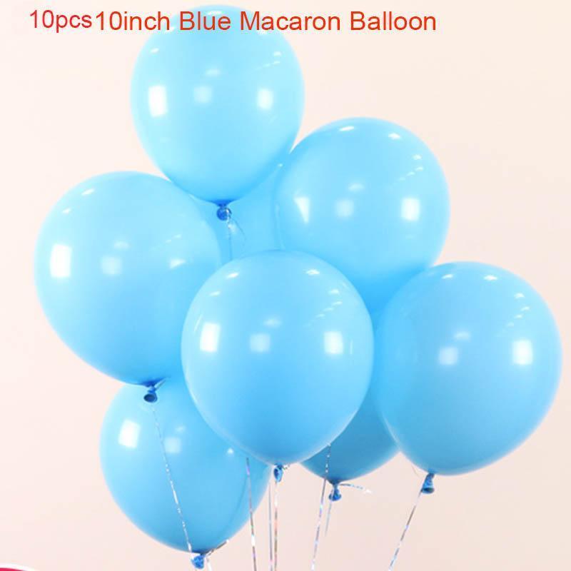 Boy 2 Years Old Birthday Balloons Baptism Boy Girl Deco Birthday Party Decorations Kids Letter Ballons Baby Shower Toys Balls Mz sqcpqL