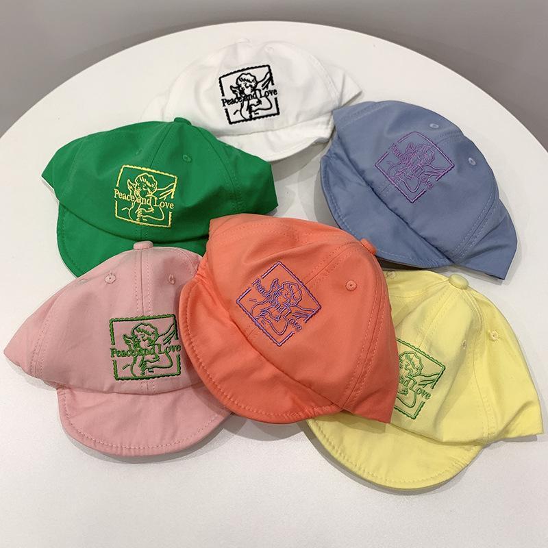 Bahar, Yaz, Yeni Beyzbol Şapkası Çocuk Açık Gölge Güneş Kremi Kap Bebek Karikatür Kap, Eğlence Şapka Yumuşak Saçak
