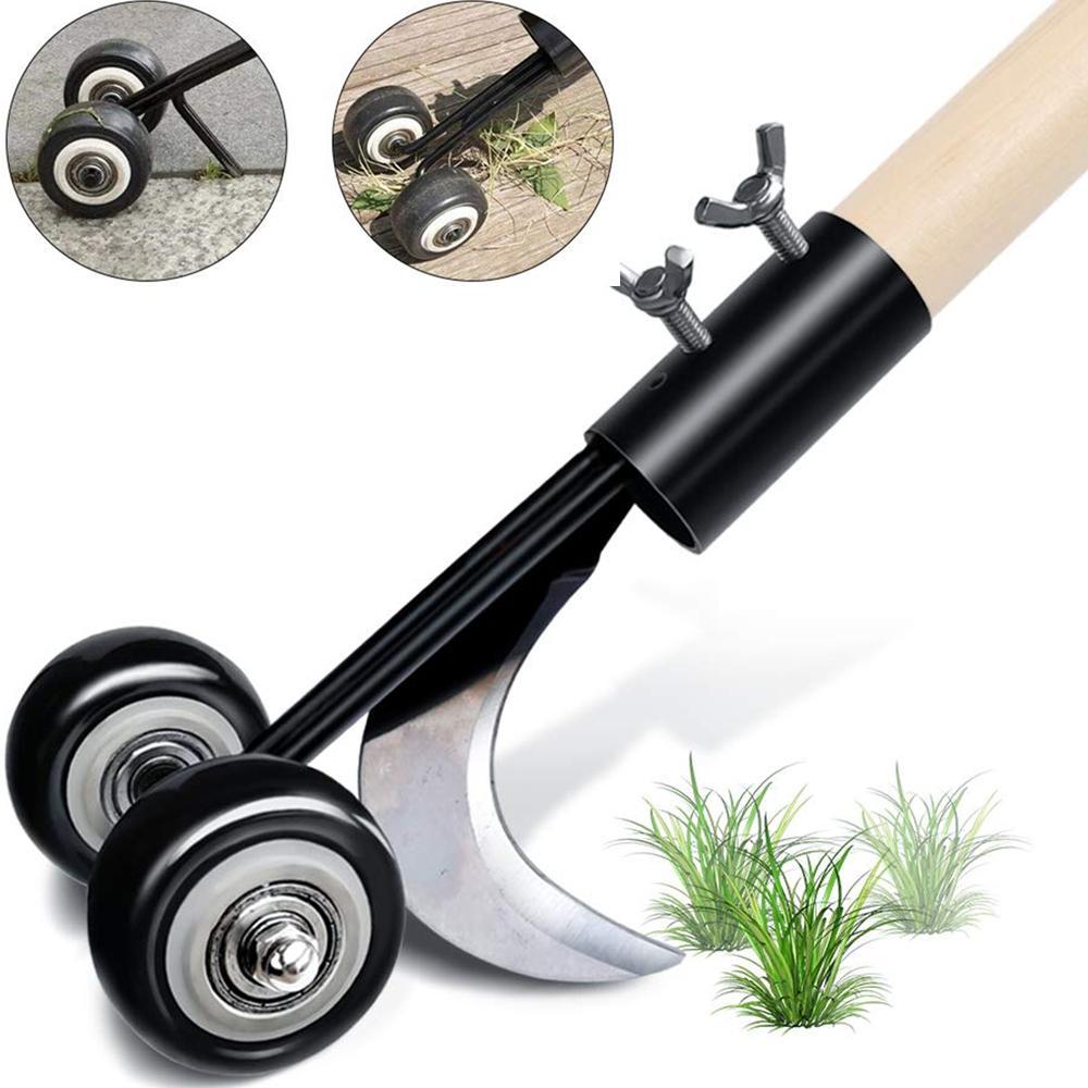 New crevice weeder free bending weeding artifact adjustable roller gardening weeder weeding hook Reusable fast and convenient weeder