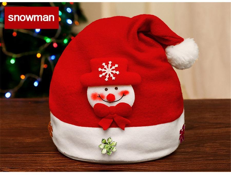 Casquillos del bebé de la asta Beanie Cap 5 colores de punto del partido cuerno de ciervo sombrero de los niños para los regalos de Navidad y Otoño Invierno Wam 12 5Cz E1 # 524
