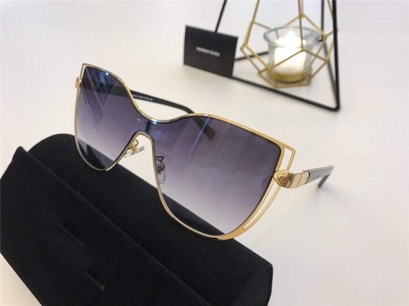 Yeni Marka Moda Lüks Tasarımcı Kadınlar Vintage Retro Erkekler Sunglass En Kaliteli Gözlük Kare Kadınlar Lüks Tasarımcı Güneş Gözlüğü 2236