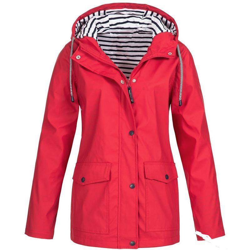 2020 Moda Kış kadın Yağmur Rüzgar Hood Ceket Kadınlar için Rüzgar Geçirmez Kalın Sıcak Ceketler