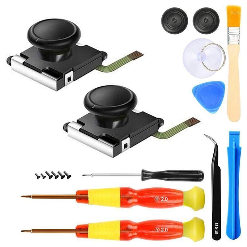 Controladores de Jogos Joysticks Multifuncional Repair Tool para Interruptor Gamepad Joystick desmontagem de chave de fenda Crowbar set1