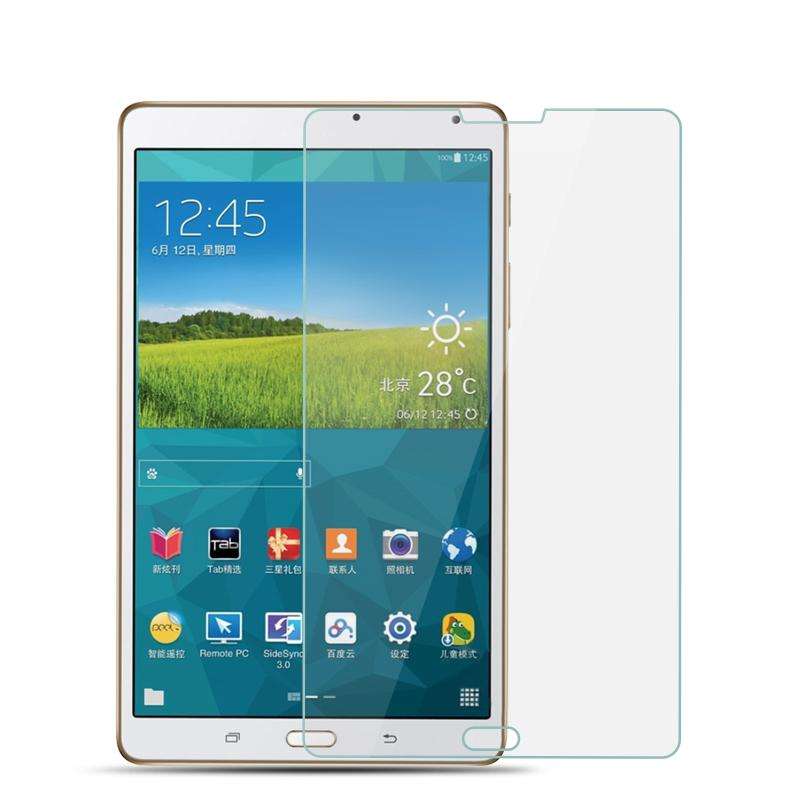 9H Tempered Glass For Samsung Galaxy Tab S T700 SM-T701 T705C 8.4 inch Tablet Screen Protector Protective Film Glass