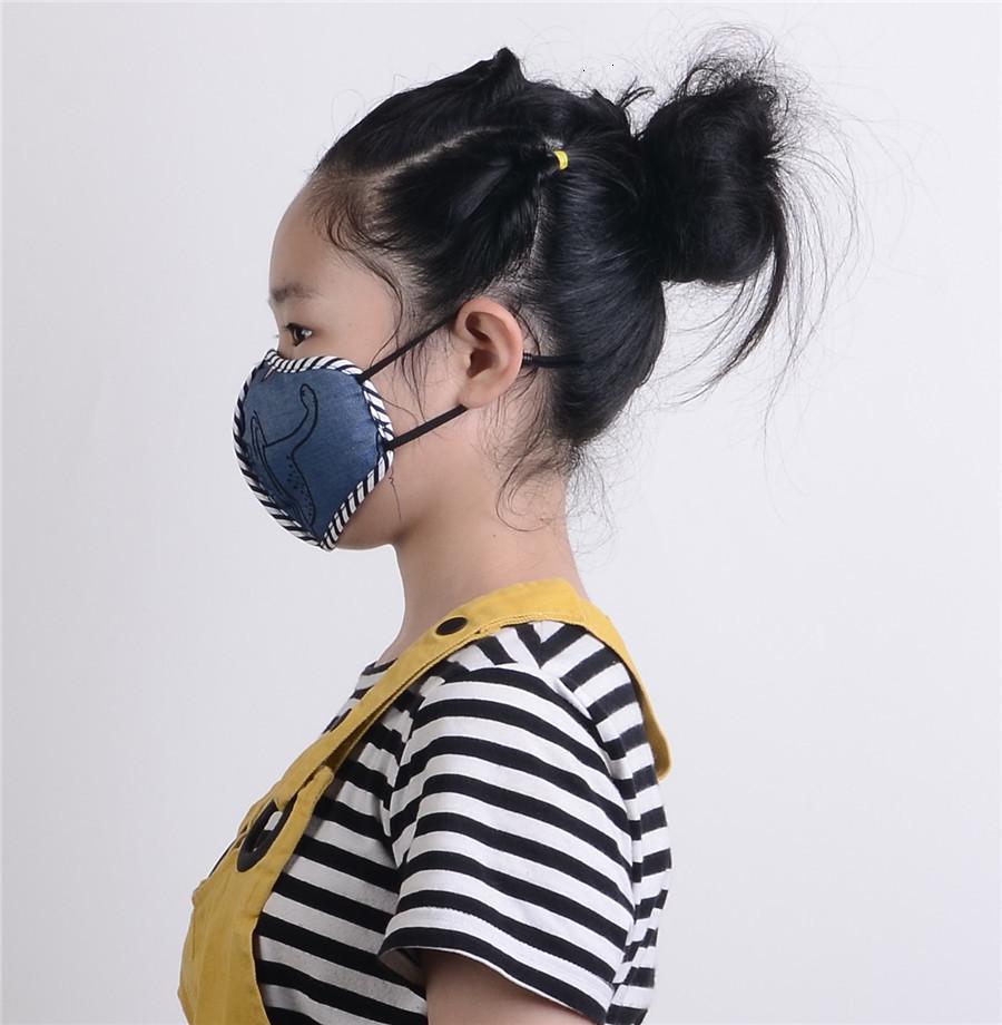 Дизайнер Детей дышащий унисекс езда на велосипеде носить черную моду хлопчатобумажный взрослый вода моющаяся нано фильтрация маска лица 5aw17i