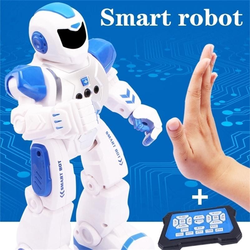 RC Smarts Roboter Dance Sing Programmable Action Figure Elektrische Fernbedienung Pädagogische Inteligente RC Robotics Geschenke Kinderspielzeug 201211
