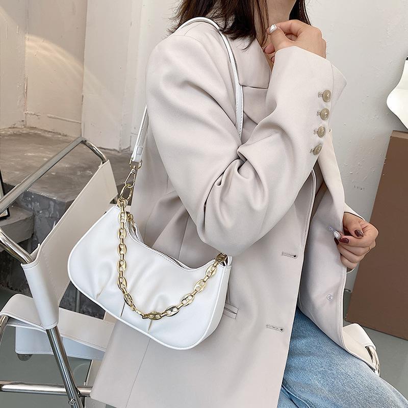 Cadena de la bolsa de verano PU de la moda de la moda de la calidad de las nuevas bolsas patrón de las mujeres bolso de mano Mini Messenger Pequeños Satchels de cuero XBFFEF