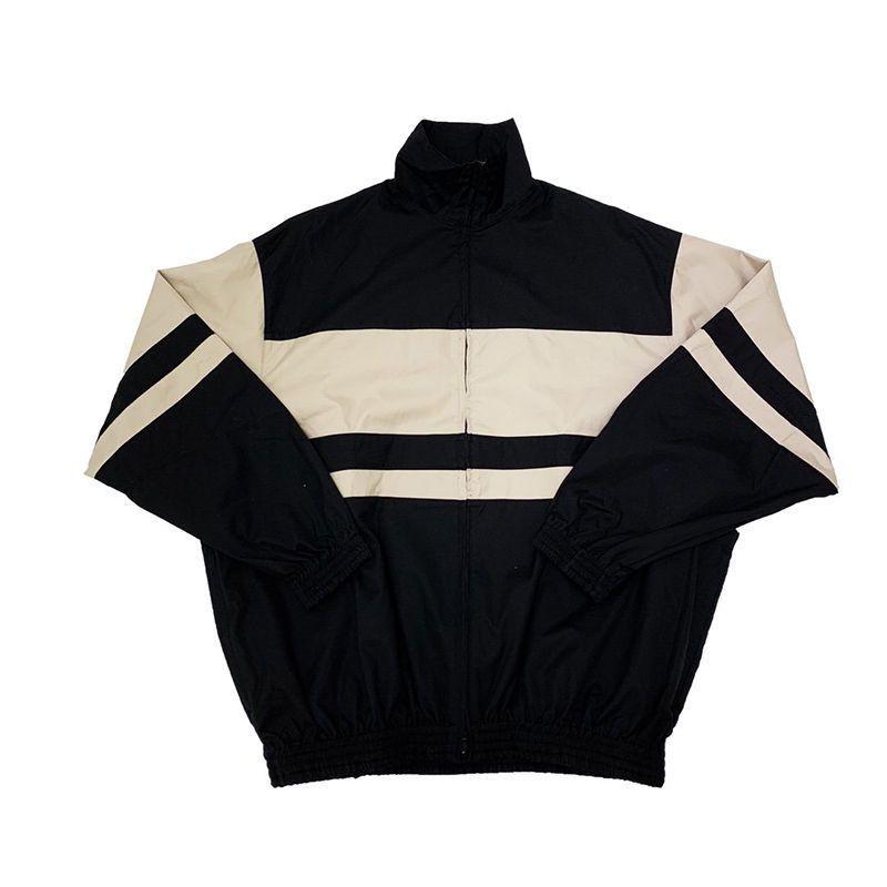 Nouveau vestes pour hommes Hommes Femmes Stripes Colorimétrie Retro Veste Casual Top grande qualité Hip Hop Veste Manteau d'hiver