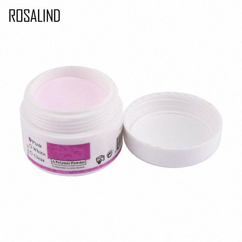 ROSALIND acrylique Powders liquides Nail Art Rose Clear Conseils Builder Manucure Nail Polymer Builder Outils d'art iC7p #