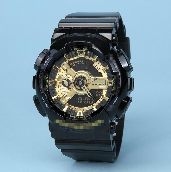 2021DZ68 Relogio G GWG100 Orologi sportivi da uomo GW1000 Display LED Fashion Fashion Army Military Shocking Orologi da uomo Casual Watches7
