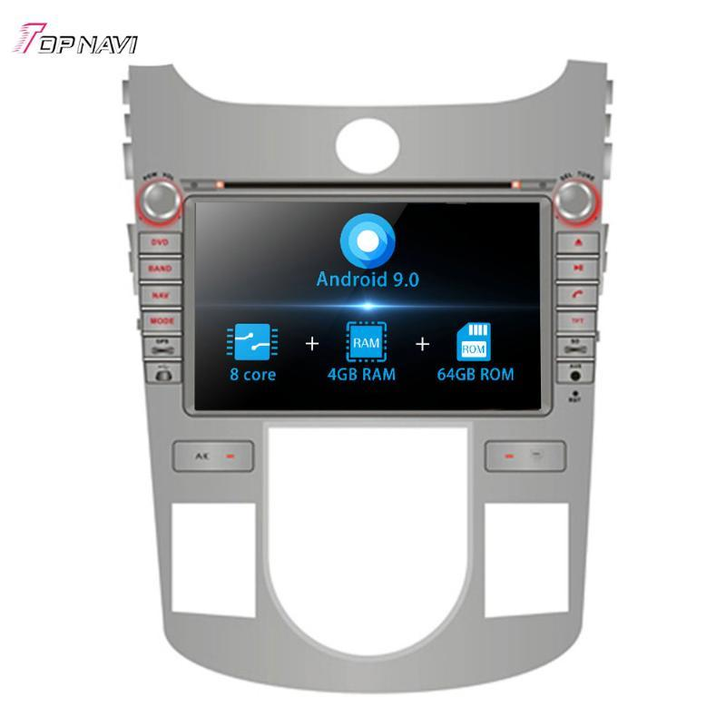 8'' Octa Core Android 9.0 Car Radio GPS For KIA CERATO/FORTE/SHUMA/KOUP Manual Air-Conditioner version 2008-2012 Stereo 2 Din car dvd