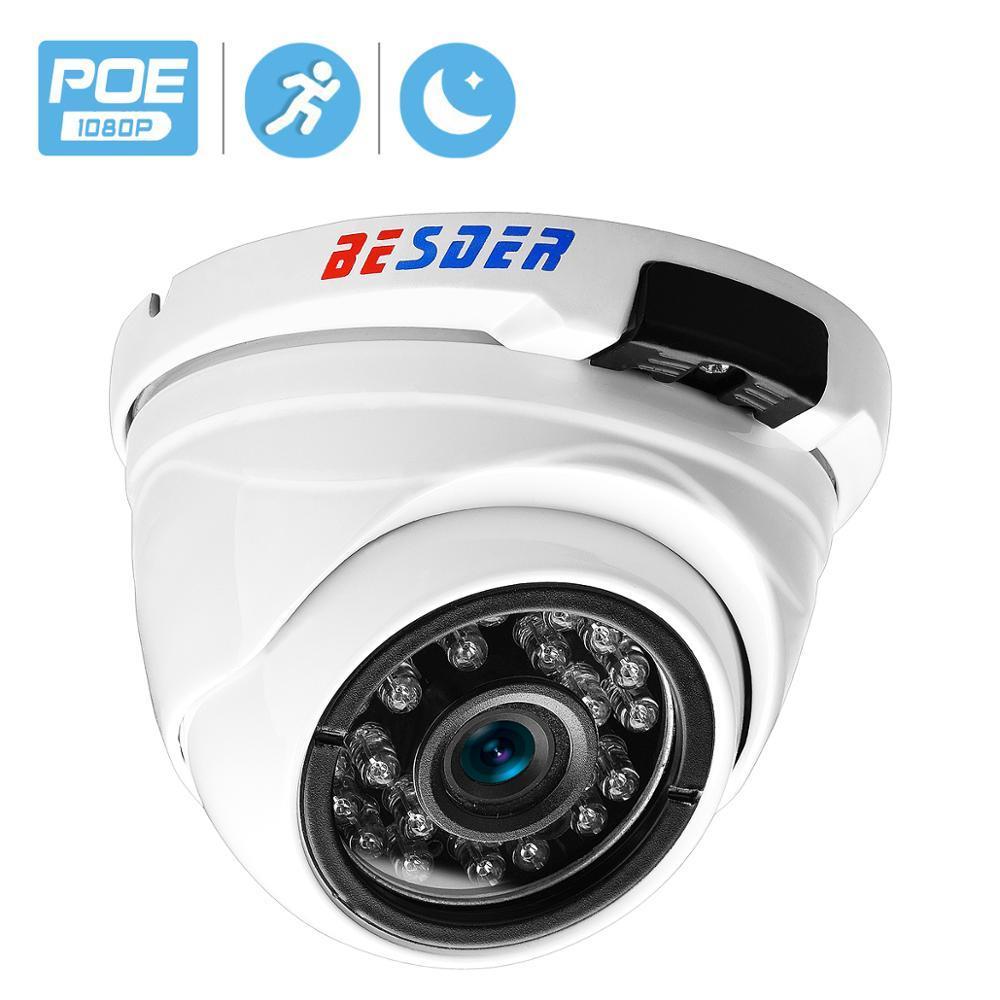 Ampia Camera BESDER Vandal-proof Interni Esterni Dome Camera IP Camera IP angolo impermeabile 1080P 960P 720P IR Notte sicurezza domestica