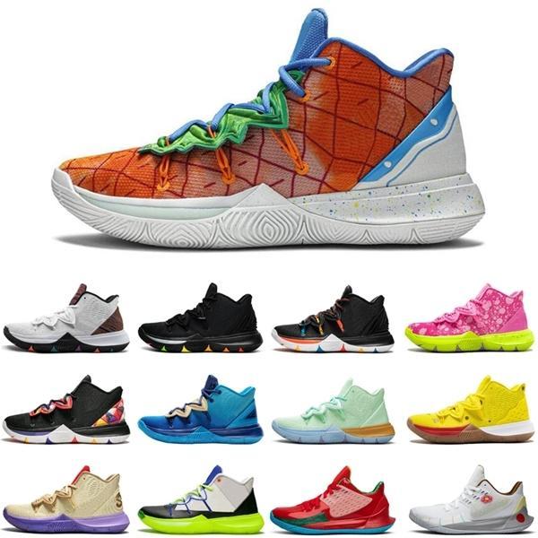 qualité supérieure chaud \ rspongebob S2 5 hommes Jumpman chaussures de sport en plein air All Star Friends mens taille de sports formateurs 7-12