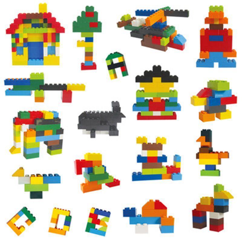 Bricolage Creative Building Britics Enfants Creative Bâtiment Briquet Brique Jouets Modèle Toys pédagogiques