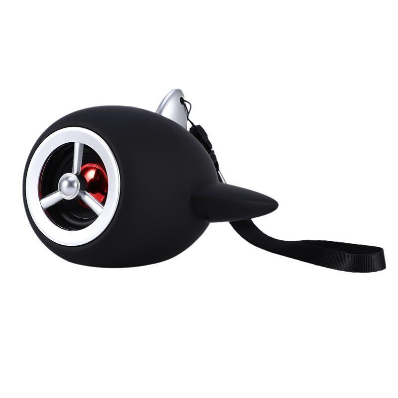 Mini Aircraft Bluetooth Speaker desenhos animados canhão criativa portátil o avião Bluetooth Speaker Modelo