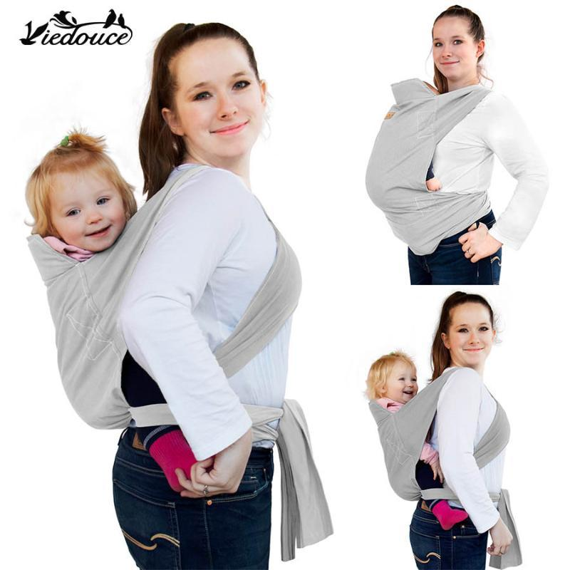 Träger, Slings Rucksäcke Viedouce Ergonomische Ring Sling Designer Stoff Babytrage Wrap Plate Kleinkind Infant Puppe Schulterfront