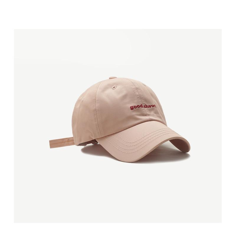 Off Red Hat Детская английская вышитая бейсболка Cap женский мягкий верхний простой мужской изогнутый Brim Capm35o