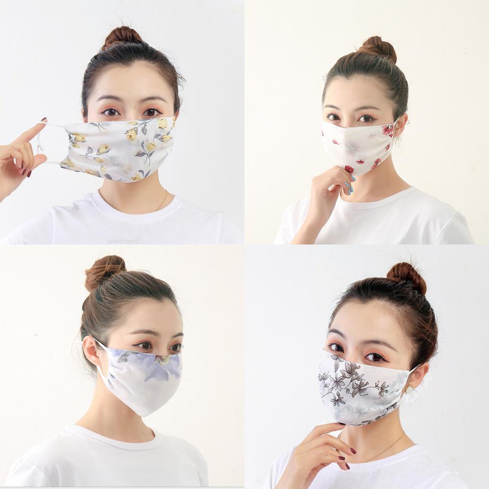 Toile à vélo Respirant Soft Outdoor Upur Mask Confortable Dust Apresse Mousseline de soie Face Sunshade Wraven