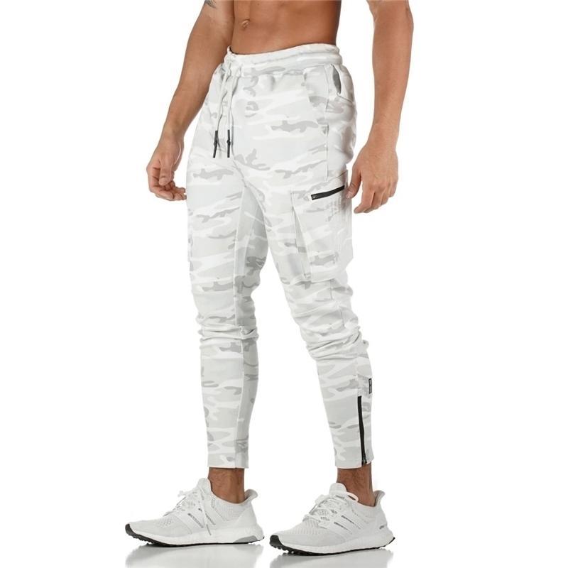 Hommes Jogger Pnats Pannatérot Homme Gymss Entraînement Fitness Pantalon Coton Mâle Casual Mode Skinny Pantalon Pantalon Design Pantalon 201118