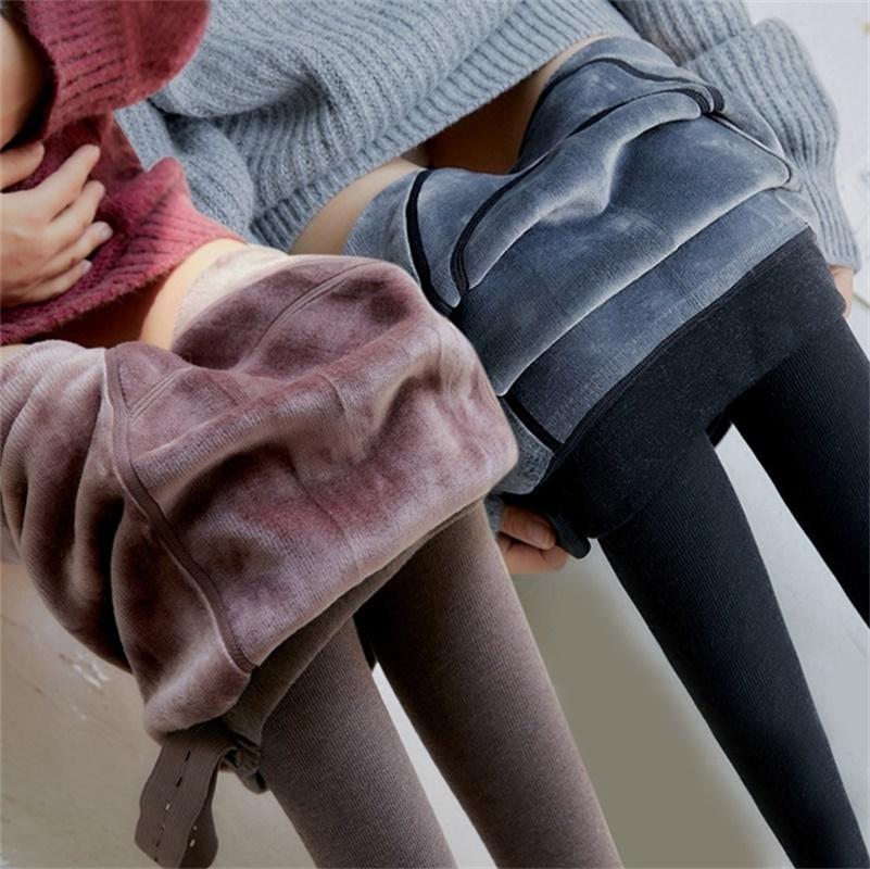 Velluto Leggings Pants per incinte caldo di inverno delle donne vestiti di maternità ispessimento gravidanza Pantaloni Abbigliamento