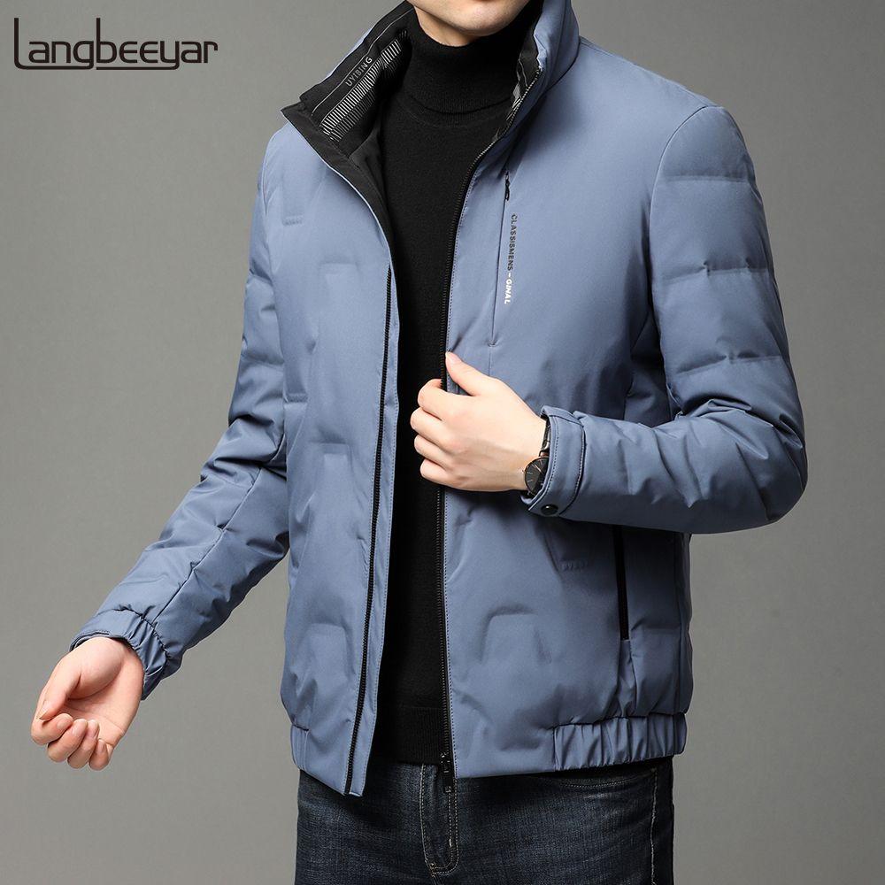 2020 neue Marke Casual Mode Männer 90% Duck Down Parka Jacke Männer Winter Windjacke Pufferjacke Bubble Mäntel Herrenbekleidung