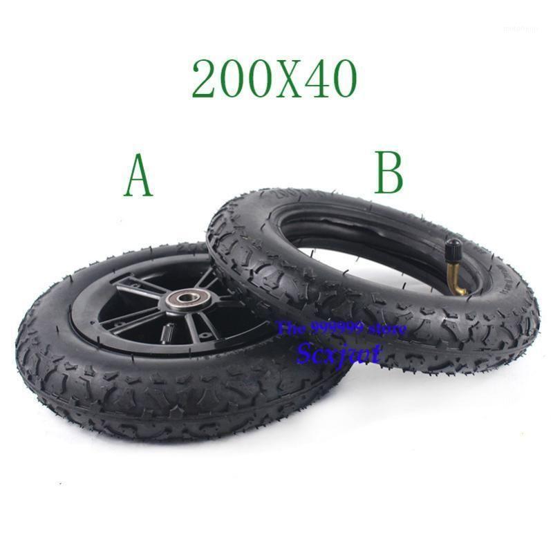 Super 200x40 pliable vélo de pneu de pneu caoutchouc pneu de pneu de scooter voiture moto accessoires de moto de bébé pour bébé pneu de roue de 8 pouces 200 * 401