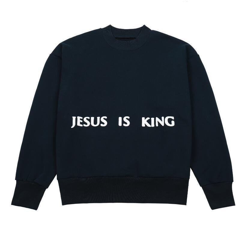 Homme Kazak O-Boyun Streetwear Triko Kazaklar Giyim S-XL Boyama 20FW Gevşek Kış Hoodie Erkekler Chicago Baskılı