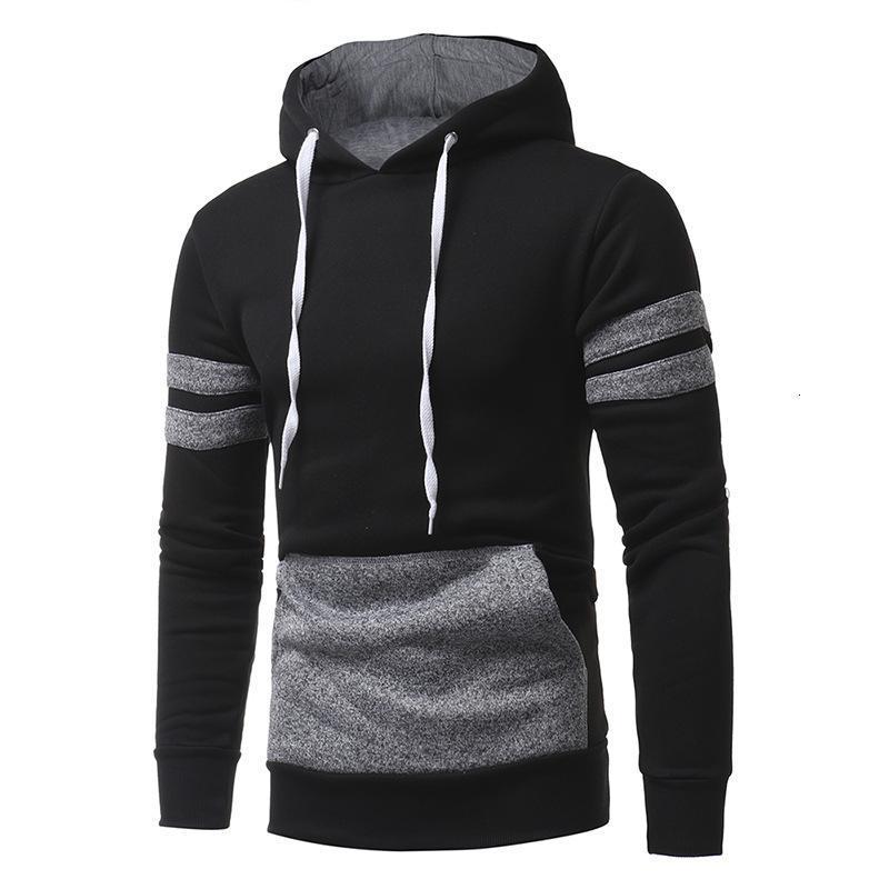 Hoodie Jacket transfronteiriça de pano Homens New personalizado 2020 de Homens Outono-Inverno Hoodie cabeça Casual hoodies camisolas