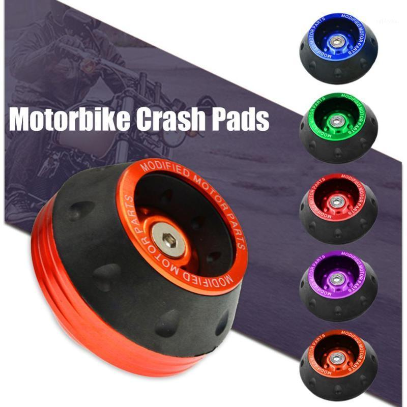 Protezione della ruota Motorbike Crash Pads Colorful Protector Motorcycle Crash Protect Motocross Pad Ruota Slider Slider Moto1