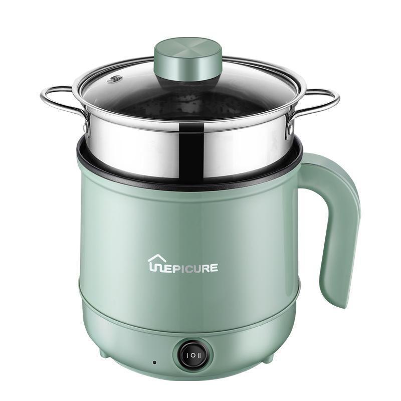110 / 220Vmultifunctional fogão elétrico hotpot mini macarrão antiaderente cozinhar frigideira de ovo aquecedor de sopa de sopa frigideira