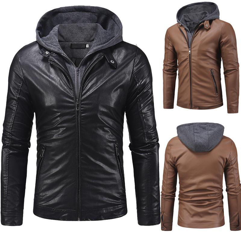 Mens Designer Outdoor Jackets Fashion Thicken Long Sleeve Solid Color Cardgian Coats Male Autumn Winter Casual Outerwear