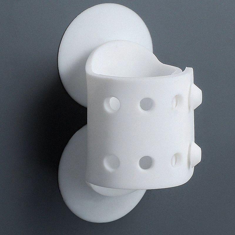 Saugnapf Brausekopfhalter Hand Showerhead Einrichtbar Brausenhalter entfernbare Wand befestigter Badezimmer-Tools 7OAL #