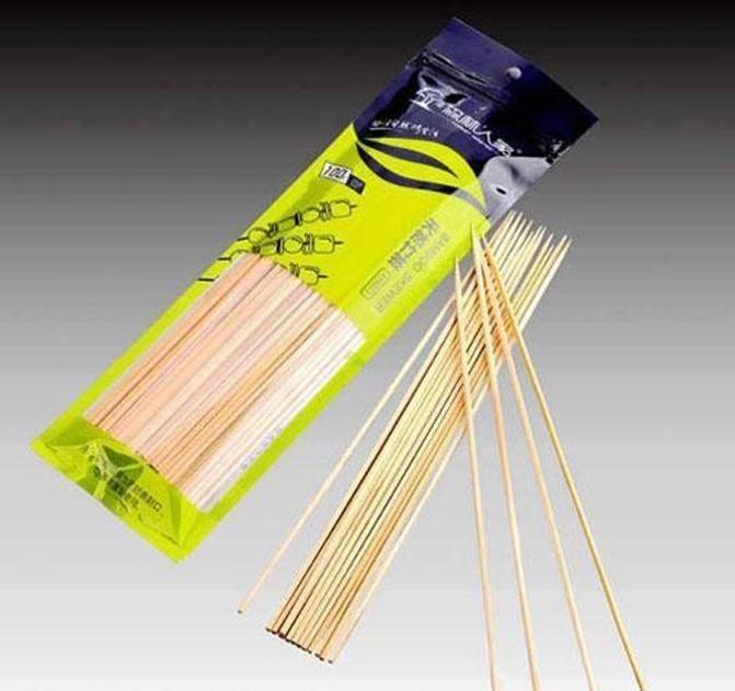 30 cm de longitud Hoomall 100pcs / docena de barbacoa alfombrillas de parrillas de bambú pinchos de bambú parrilla shish wick wood sticks barbacoa barbacoa herramientas chu bbywpj warmslove