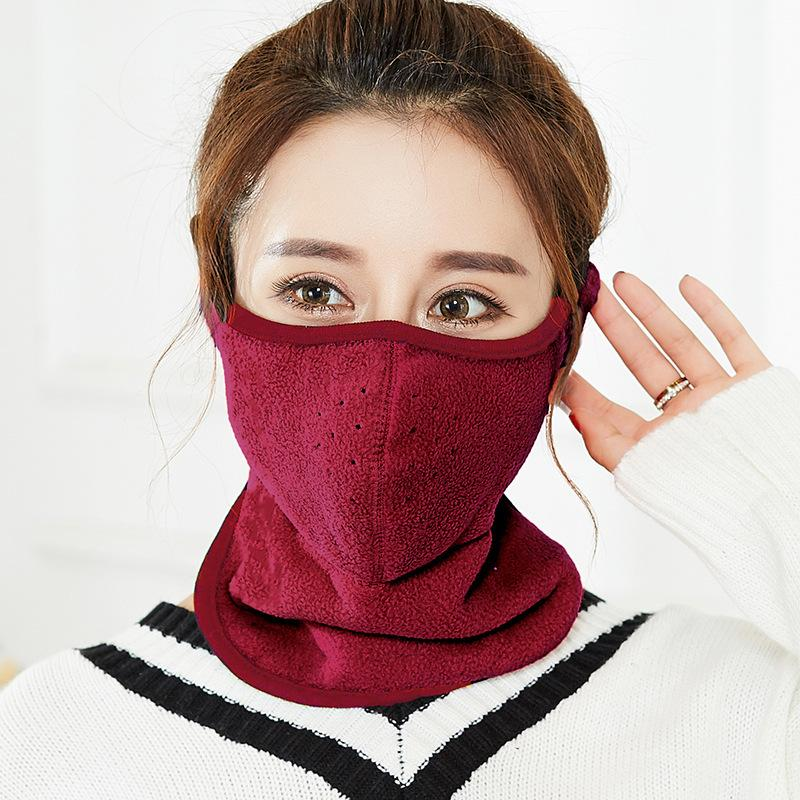 Gesichtsmaske draußen Reiten Windschutzkaltschicht Wiederverwendbar einstellbarer Gesichtsschild Vergrößern Schutzmundmasken Freies Verschiffen 4 7zh K2