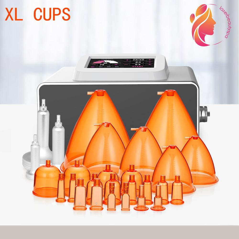 NEW Cupping Therapy With 150ML XL Orange Cups BBL Breast Enhancement Butt Lifting Vacuum Cupping Breast Care Beauty Vacuum