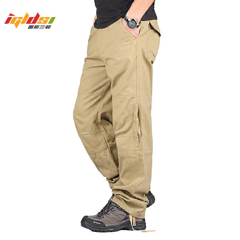 Cargo Pants New Spring Autumn Men Streetwear Casual Military Long Trousers Men Army Camo Straight Mens Joggers Pants LJ201007