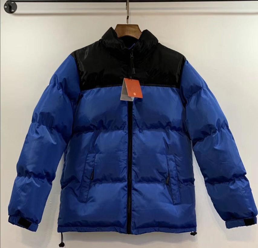 Mode Männer Daunenmantel 20FW Winter Damen Parkas Warme Brief Stickerei Muster Winddicht Stoff Hohe Qualität Jacke Größe M-2XL 9 Farbe