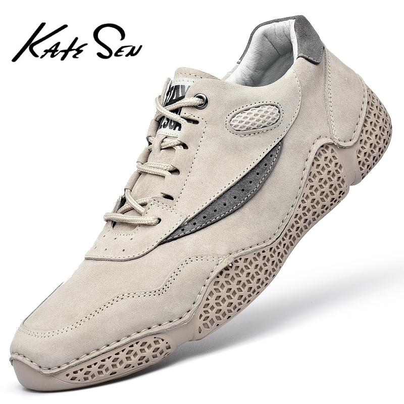 Scarpe da uomo in pelle di marca Lncrease Uomo Mocassini Polpo Scarpe Casual Scarpe da guida morbide da uomo Appartamenti Lace-up uomo calzature uomo 201212