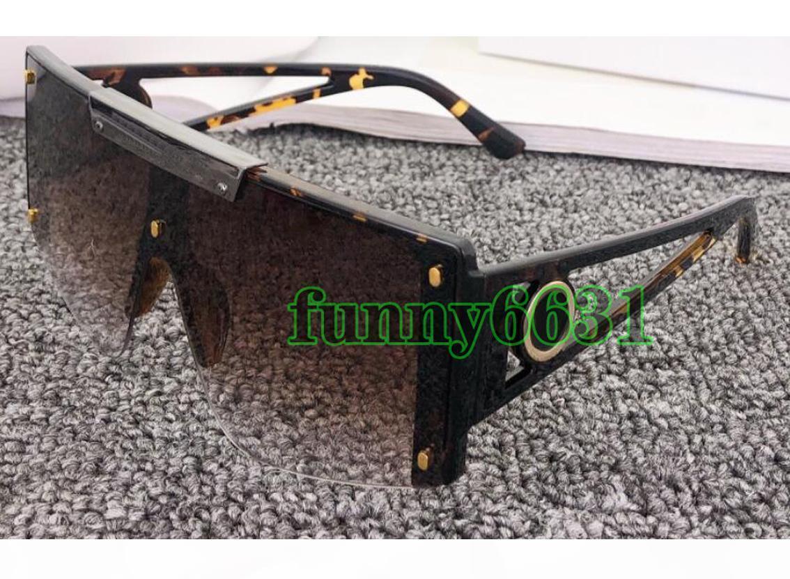 Sommer Neueste Männer Große Rahmen Sonnenbrille Strand Radfahren Outdoor Bindeline Linsen Sonnenbrille Frau Mode Rechteck Goggle Freies Verschiffen