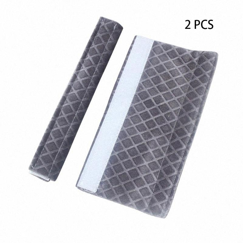 Sticker Fissare regolabile a microonde Frigorifero Porta lavabile Cucina Appliance Forno maniglia Soft Cover Lint tessuto protettivo w3jb #